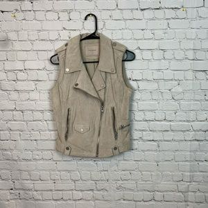 Blank NYC Moto Suede Vest